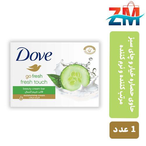 صابون- زيبايي-- داو مرطوب -کننده -با -رايحه- خيار- و -چاي- سبز -100 -گرم