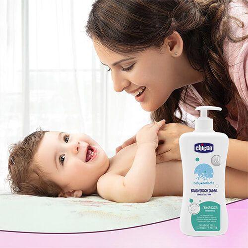 شامپو - بدن - کودک - چیکو - مدل - tenderness
